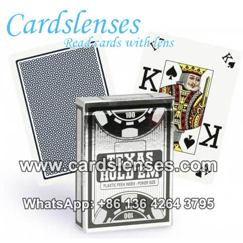 copag texas holdem dual index barcode cards