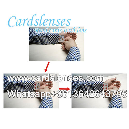 Cards trick poker cards exchanger cuff