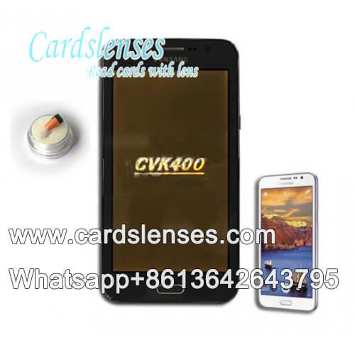 Analizador de baraja de cartas marcada de CVK400