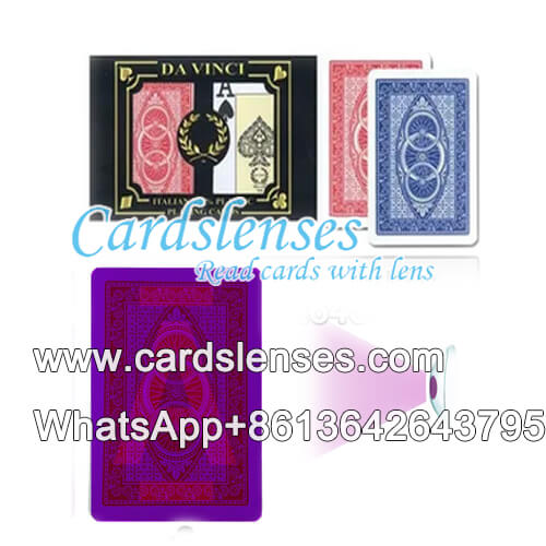 da vinci marked playing cards for sale