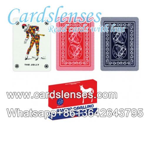 Dal Negro cavallino baraja de cartas marcada