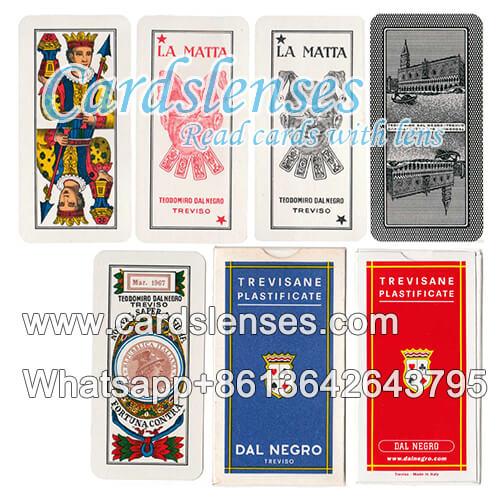 X-ray dal negro treviso marked cards