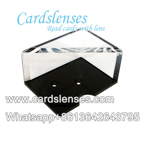 diamond shape mirror blackjack shoe