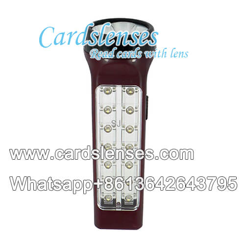 IR3 marked cards emergency lamp camera