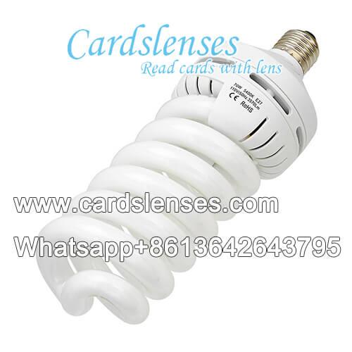 lâmpada de luz do dia IR3 cartas marcadas câmara óptica