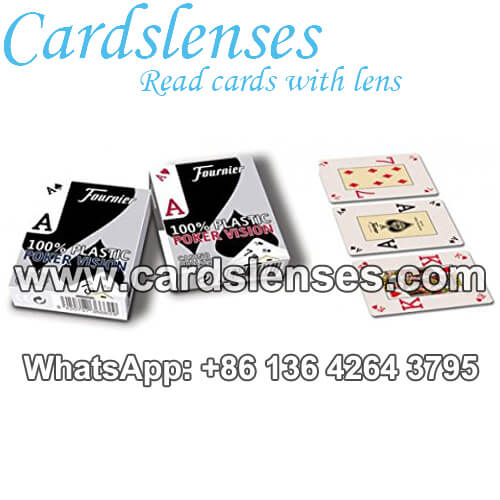 founier poker vision 100 plastic marked cards