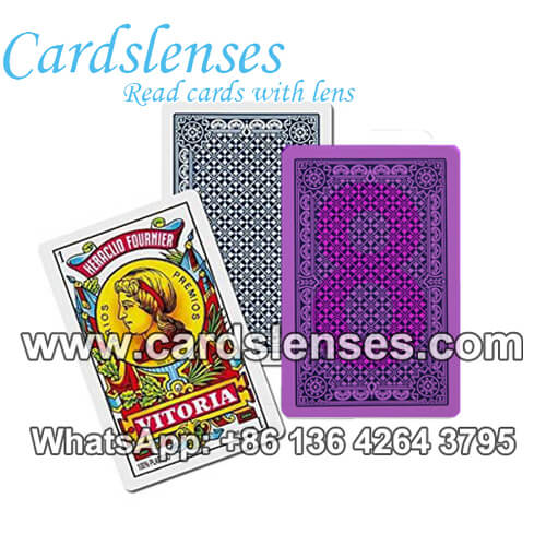 fournier 2100 marked poker cards