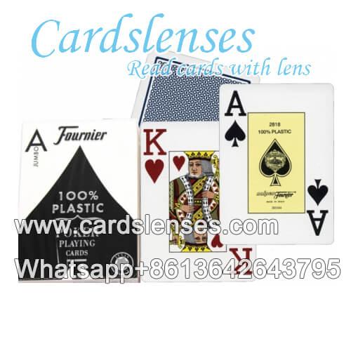 Fournier 2800 baraja de cartas marcada con lentes de contacto