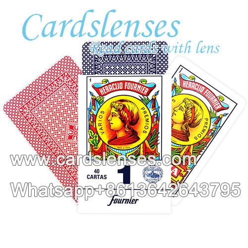 Heraclio Fournier No.1 carte segnate succo