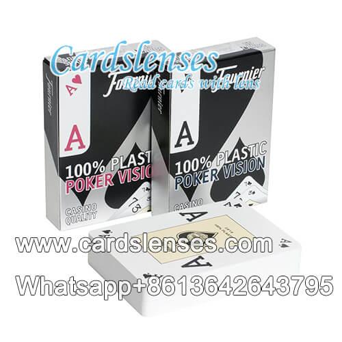 fournier visión de póquer tarjetas
