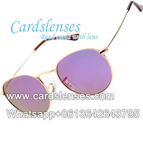 Baraja marcada omnipotentes gafas de sol rayos x