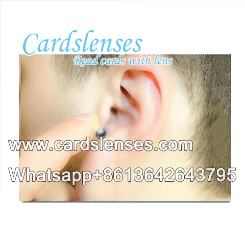 x-ray marked cards magnet earpiece