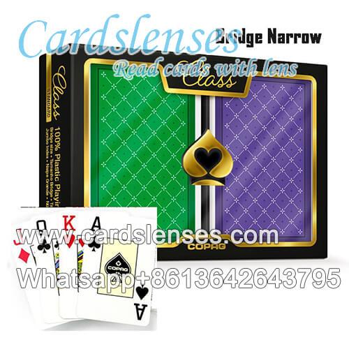 Lenti a contatto carte di mazzo segnate Copag Class Standard