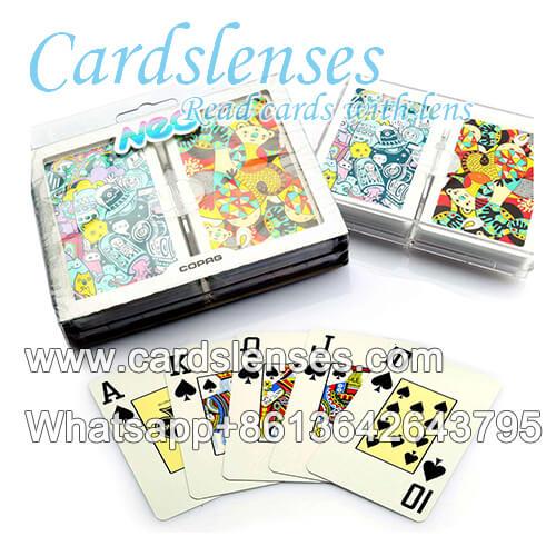 Lenti a contatto segnate carte Neo Nonsense