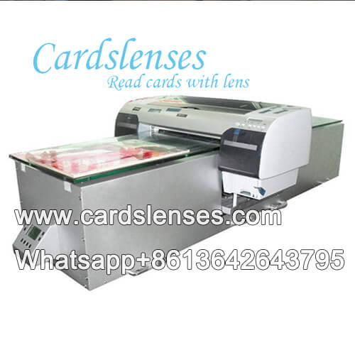 Marked cards printer system