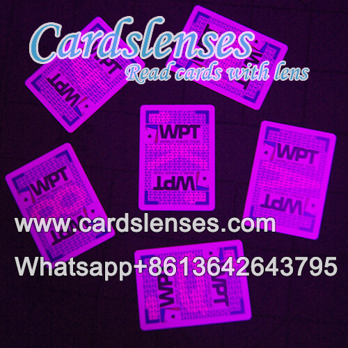 invisible ink marked fournier wpt playing cards