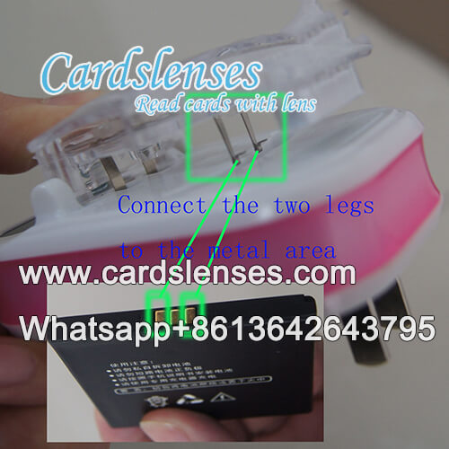 invisible marked cards universal charger