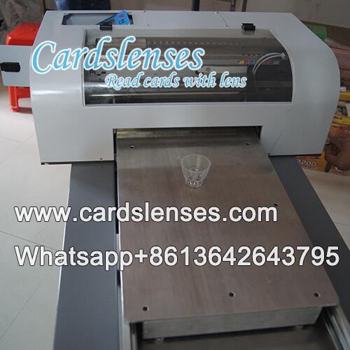 Sistema de impresora de baraja marcada