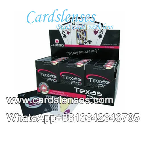 juego texas pro marked cards