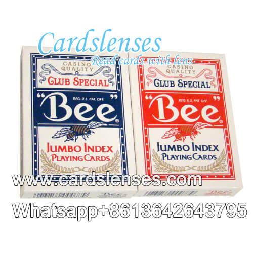bee jumbo index no.92 playing playing cards