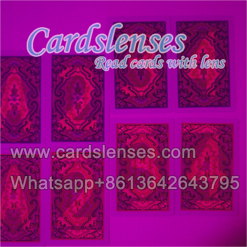 playing cards kem paisley invisible juice cards