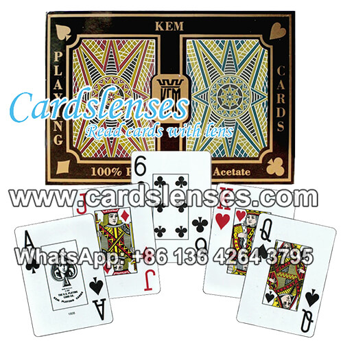 kem stargazer playing cards are marked