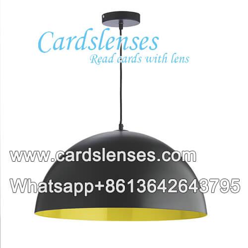 lâmpada de teto IR câmera