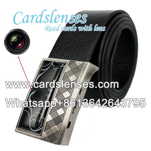 leather belt scanner for poker