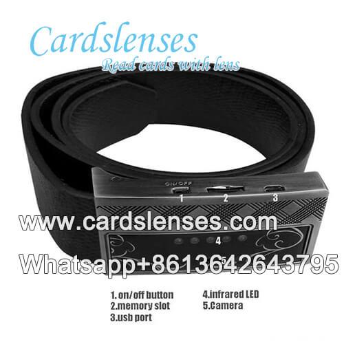 leather belt scanner for poker