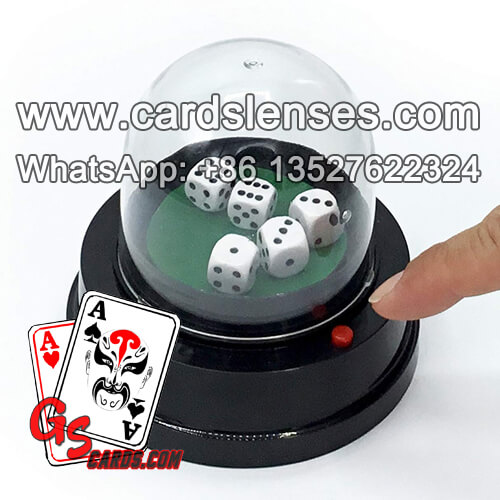 lucky remote control dice automatic roller