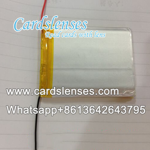 Batería para dispositivos de baraja marcada