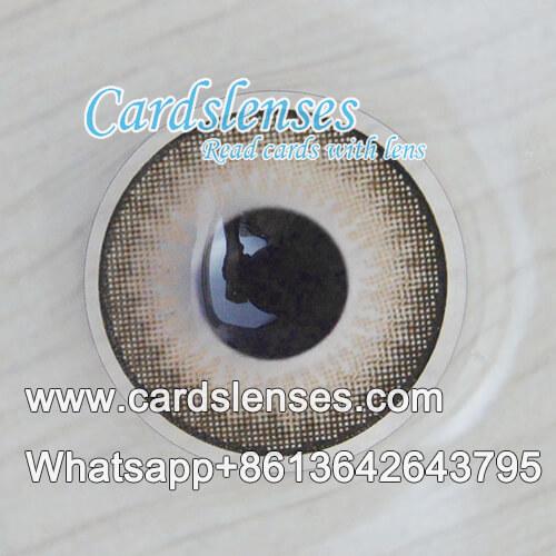 Magia raios-X baralho marcado lente de contato
