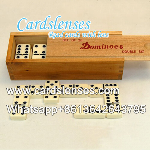 marked domino for infrared contact lens