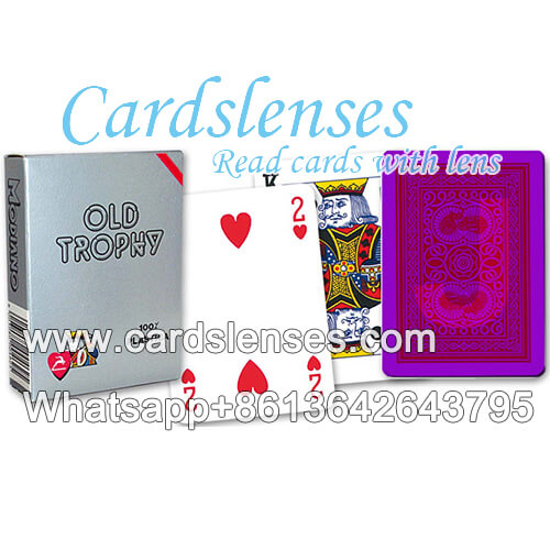 luminous modiano old trophy marked cards