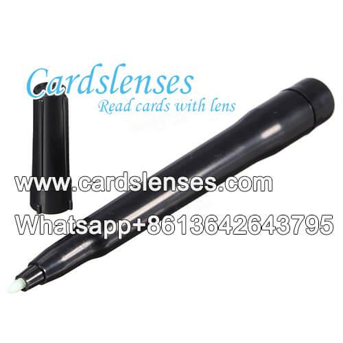 GS baraja marcada pluma de tinta invisible