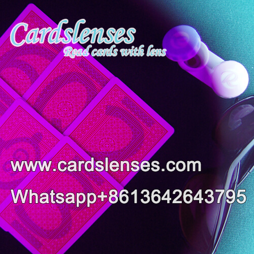 magic contact lens for ir tricks marked cards