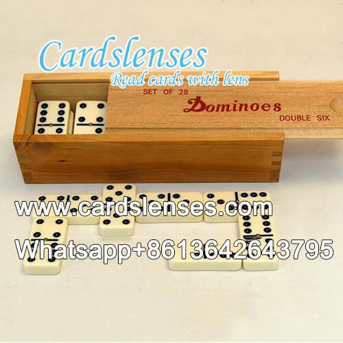 domino marcada para lentes de contacto infravermelho
