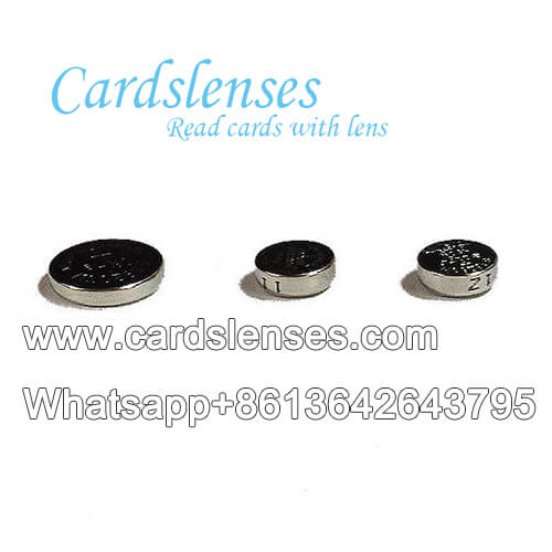 marked playing cards earpiece battery