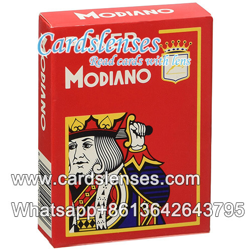modiano cristallo 4pip poker cards