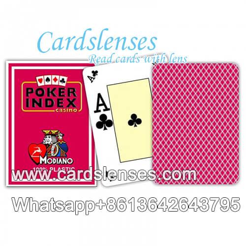 Modiano Índice de póker cartas de póquer