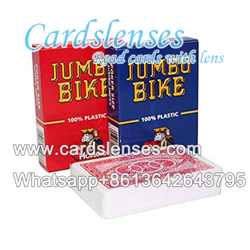 Modiano Jumbo Bike baralho marcado luminosas