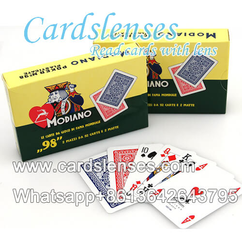 modiano poker no.98 baralho marcado