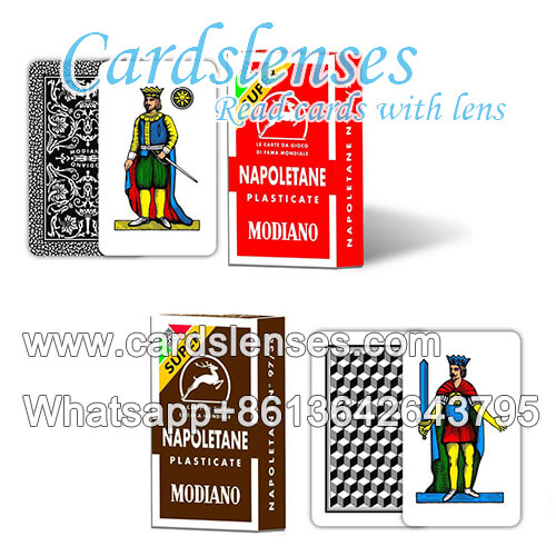 perspective marked cards of modiano napoletane