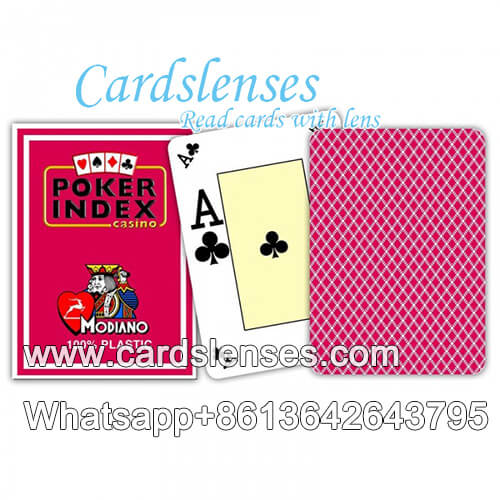 modiano poker index poker cards
