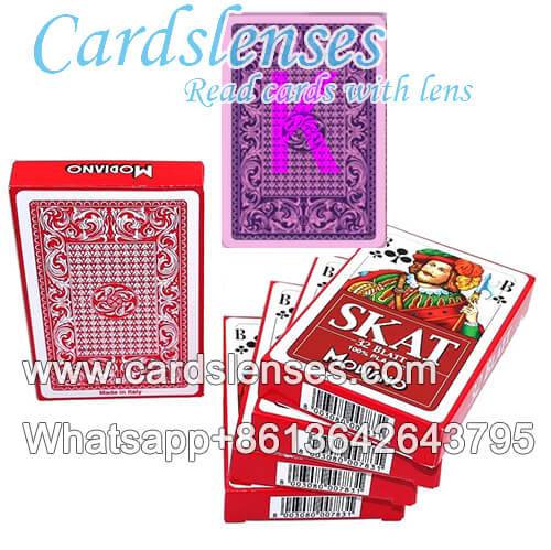 modiano skat plastic perspective playing cards