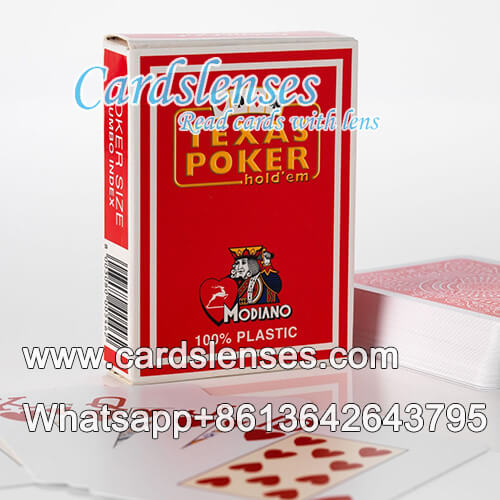 Modiano texas holdem baraja