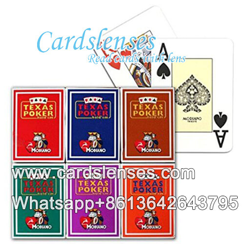 modiano texas holdem playing deck