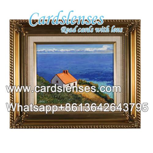 tinta especial marcação póquer quadro de parede Foto câmera
