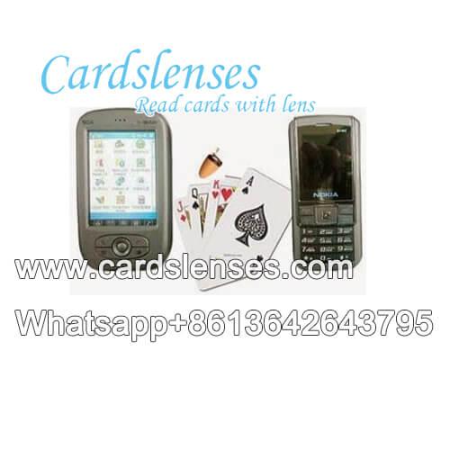 telefone Nokia texas scanner de cartões do póquer
