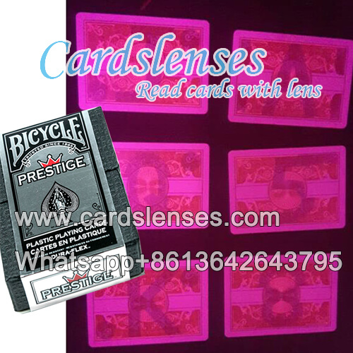 novelty decks of bicycle prestige marked cards
